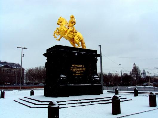 Statue in Dresden